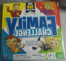 Family Challenge Board Game Spin Master 100 Mini Games Famil