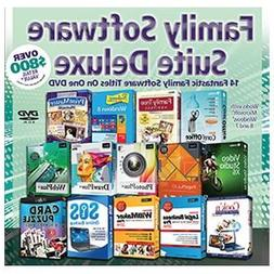Family Software Suite Deluxe On DVD