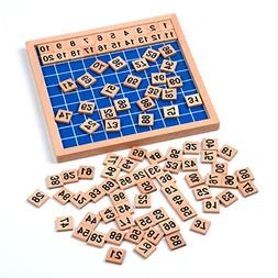family version hundred board math