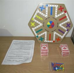 Fass Trak Game   6 Player Board Game-New Old Stock Made in U