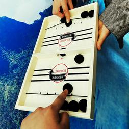 Fast Sling Puck Game Paced Sling Puck Winner Board Family To