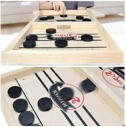 fast sling puck game wooden board table