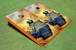 Fire Fighters #1 Theme Corn Hole Boards Cornhole Game Set
