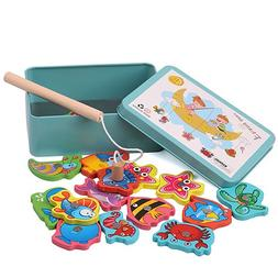 PiscatorZone Fishing Toys Fun Magnetic Puzzle Game Children