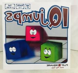 Flat Square Iq Jumps Logic Puzzle Board Game NEW READY TO SH