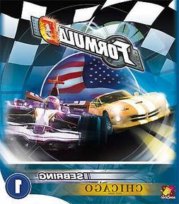 Formula D Expansion Tracks #1: Chicago/Sebring Board Game As