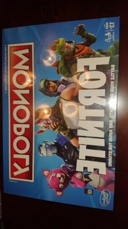 Fortnite Monopoly Limited Edition Board Game PRE-ORDER Ships