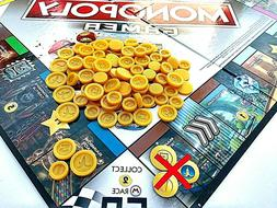 - Monopoly Gamer Board Game Coins | 105 Coins Total | 3D Pr