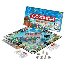 Futurama Monopoly Collector's Edition - with Gold Bender Tok