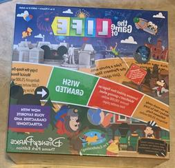 Game of Life Disney Theme Park Edition Board Game NEW factor