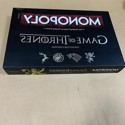 Game of Thrones Monopoly Board Game Collectors Edition