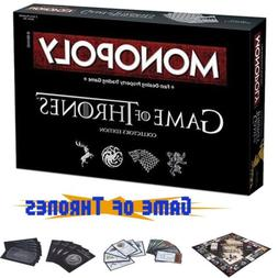 Game of Thrones Monopoly Board Game Party Home Game Collecto