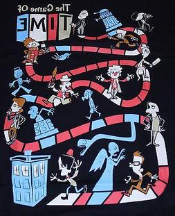 """Game of Time"" Doctor Who Board Game Dalek Tardis XL Shirt T"