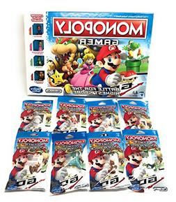 Monopoly Gamer Mario Brothers Bundle With Complete Set Of 8