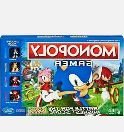 Monopoly Gamer Sonic The Hedgehog Edition Board Game For Kid