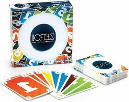Blue Orange GAMES Zero Down Card Game for Families
