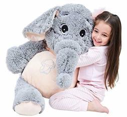 Giant Elephant Stuffed Animal Plush Toys Gifts