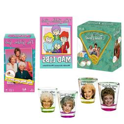 Toynk Golden Girls Game Night Bundle of 4 with Board Game, W