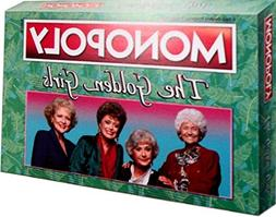 The Golden Girls Monopoly Board Game and keychain