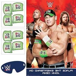 Amscan Grand Slammin' WWE Birthday Party Game Activity , Ass