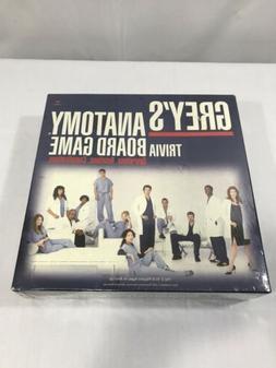 Grey's Anatomy Trivia Board Game, 2007 - Sealed!
