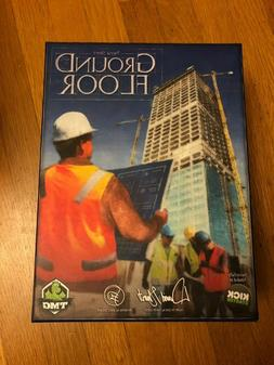 GROUND FLOOR KICKSTARTER EDITION TMG Board Game MINT COMPLET