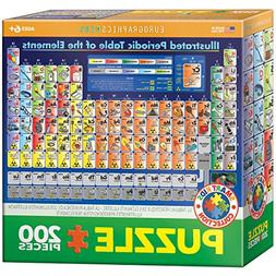EuroGraphics Kids Illustrated Periodic Table of the Elements