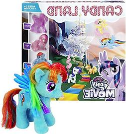 Bundle Includes 2 Items - Candy Land Game: My Little Pony th