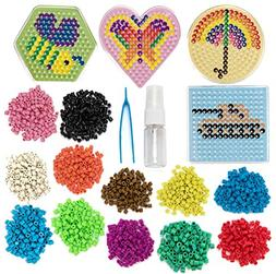 No Iron Fuse Bead Kit - Design, Spray and Stay - Pegboard an