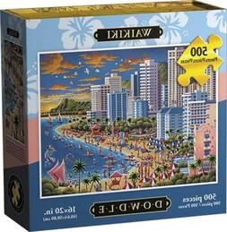 Jigsaw Puzzle- Lake Tahoe 500 Piece Puzzle By Dowdle Folk Ar