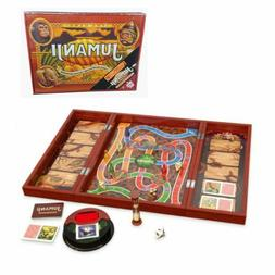 Jumanji The Game Deluxe Real Wooden Box Toys Puzzles Board G