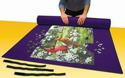 Jumbo Puzzle Mat Board 48 X 36 Inches w/ Roll Up Storage Tub