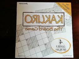 New Kakuro The Board Game by Pressman English Multiple Playe