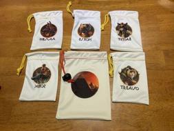 Kemet Board Game - Silk Storage Bags Promo-New Unused -Game
