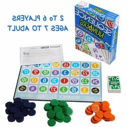 Kids Sequence Board Game,Montessori Toys,Board Game-Family E