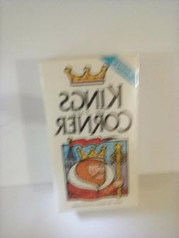 KINGS IN THE CORNER - the classic board cards family game -
