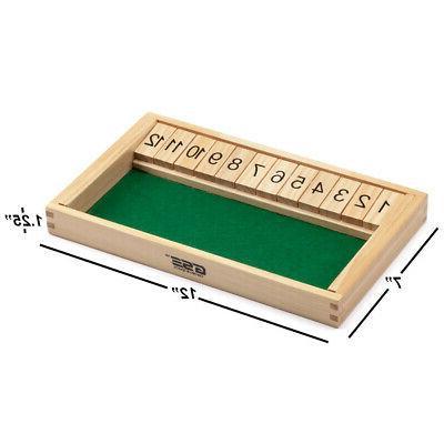 12 Box Game w/Dice. Porch