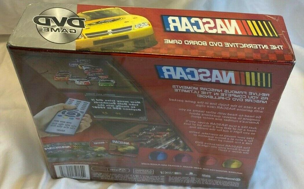 2008 NASCAR The Board Game Games Race Car Drive New Seal