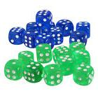 20x Board Game Die Dotted Dice D6 Round Corner for Kids Buil