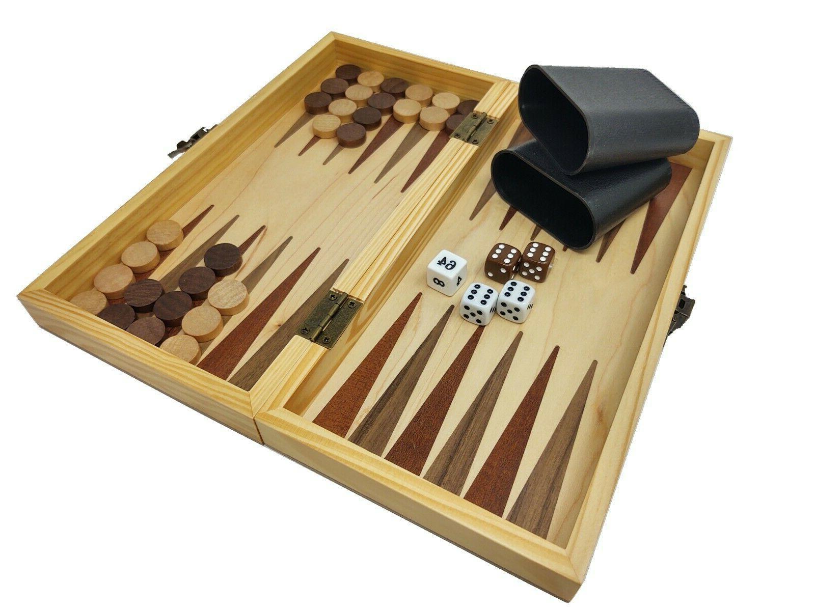 DA VINCI Combination Chess, Checkers, and Backgammon