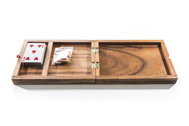 Kubiya Games Player Cribbage - Strategy Game, Wooden board game, Cards Game
