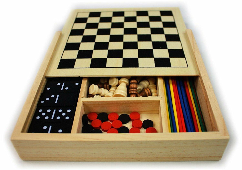5-in-1 Board Set Pick Backgammon