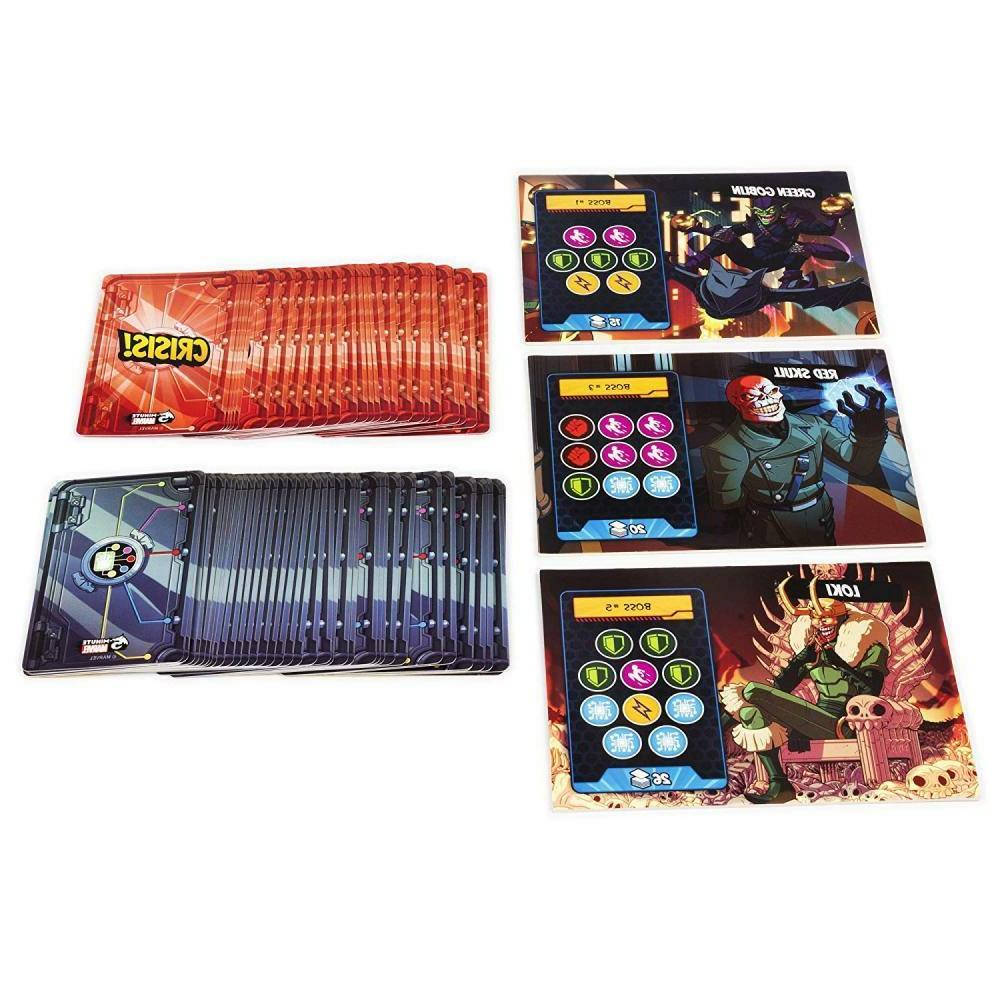 Spin Master Minute Marvel Cooperative Card Game for Aged 8 & Up