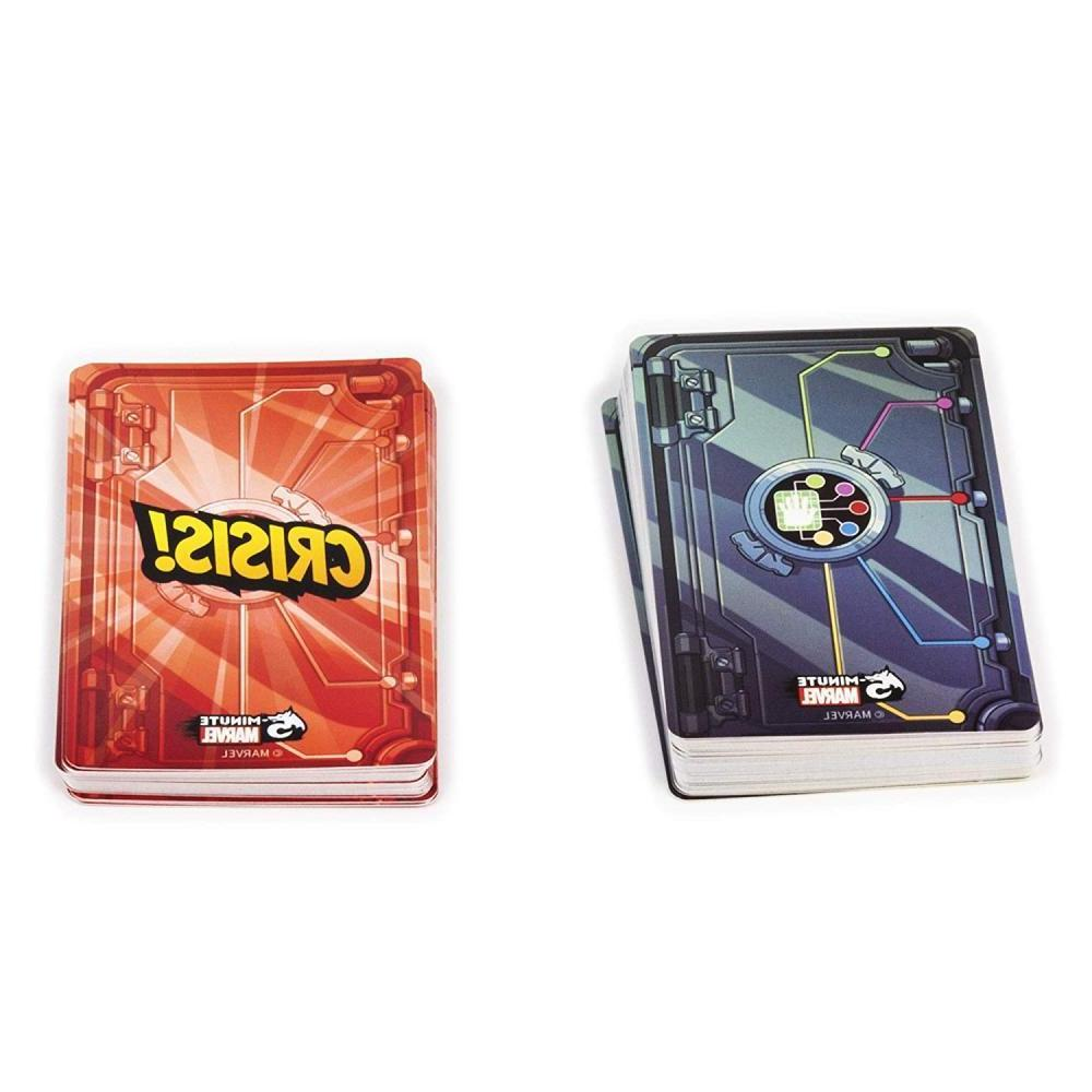 Spin Minute Marvel Cooperative Card Game