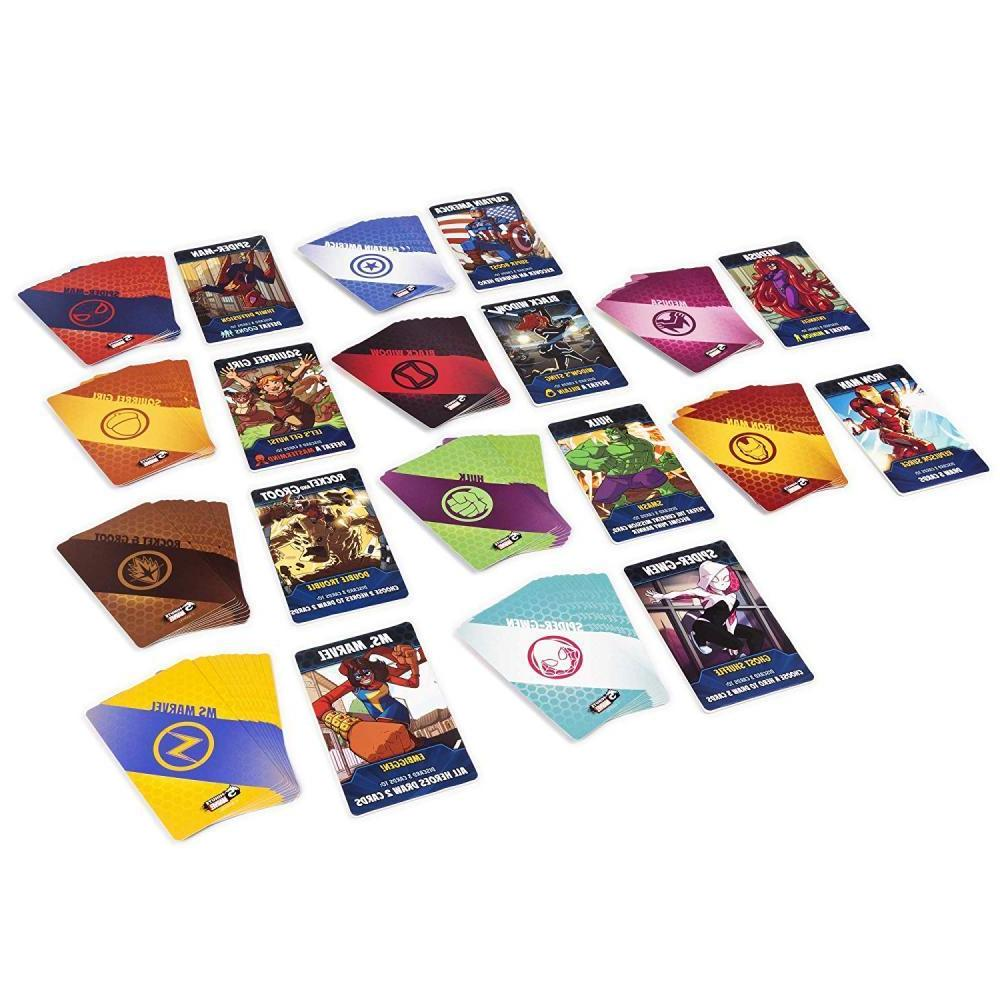 5 minute marvel cooperative card game
