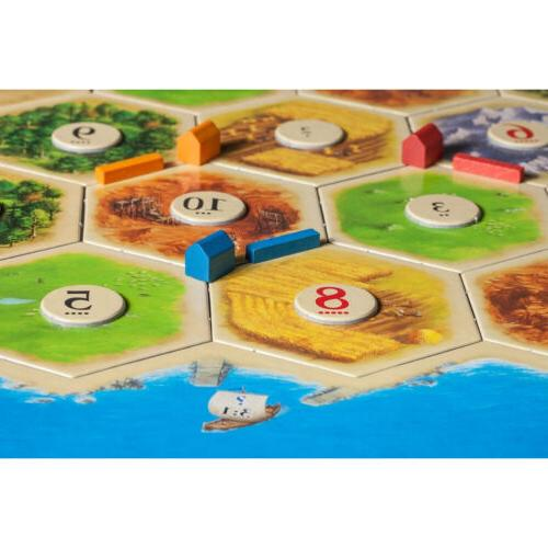 Catan 5th Edition Build Board Kids
