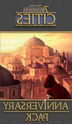 7 Wonders Cities Anniversary Pack Expansion Board Card Game