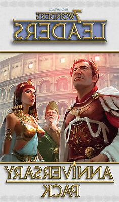 7 Wonders Board Game: Leaders Anniversary Pack Expansion by