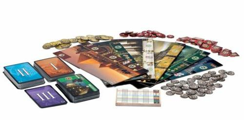 7 Wonders Board Game Party Game Children Gift --Free Shipping New US