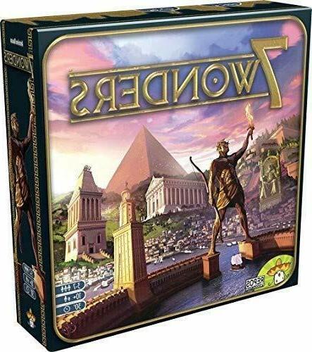 7 wonders seven wonders board game new
